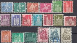 HELVETIA - SUISSE - SVIZZERA - 1960/1963 - Lotto Di 19 Valori Usati - Usati