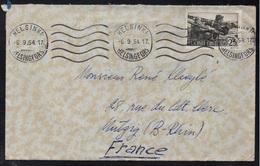 FINLANDE - FINLAND - HELSINKI / 1954 LETTRE POUR LA FRANCE (ref 8003) - Finnland