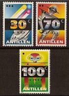 Ned-Antillen NVPH Nr 1013/5 Postfris (MNH, Neuf Sans Charniere) Child Welfare, Robots, Space, UFO, Alien - Curacao, Netherlands Antilles, Aruba