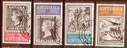 "Antigua 1979: Michel-No. 529+532 ""Sir Rowland Hill"" Used (c.t.o)  ""Antigua 1862, Black Penny 1840, Coach, Concorde"" - Antigua Und Barbuda (1981-...)"