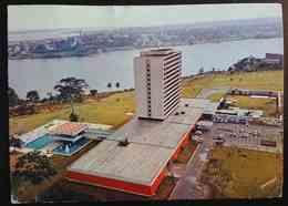 ABIDJAN - COTE D'IVOIRE - Hotel Ivoire - Vue Sur Les Lagunes Et Treichville    Vg - Costa D'Avorio