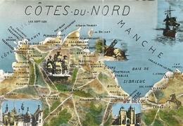 ( 22 COTES DU NORD )( CARTE GEOGRAPHIQUE ) - Landkarten