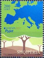 AL 2011-3336 EUROPA CEPT, ALBANIA, 1 X 1v, MNH - 2011
