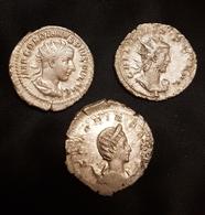 Lot Antoniniens GORDIEN III, GALLIEN, SALONINA - 5. The Military Crisis (235 AD Tot 284 AD)