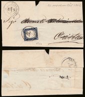 20c (15Ea) Su Lettera Ann. PAULILATINO (p.8): Lieve Piega Ma € 1.110 - Sardaigne