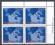 Canada 1980. Scott #847 U.R. (MNH) Map Of Canada Showing Arctic Islands ** Complet Set - 1952-.... Règne D'Elizabeth II