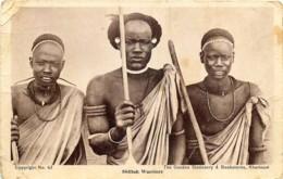 Soudan - Shilluk Warriors - Soudan
