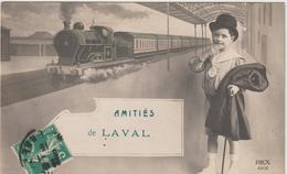 Mayenne : LAVAL :  Amitiés  En  Train - Laval