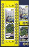 ABH 2011- EUROPA CEPT,GEORGIA ABHASIA, 2v + S/S , Used - 2011