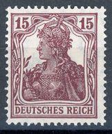 Nr. 100 B Geprüft INFLA - Michel 80 € - Allemagne