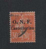 Faux Castellorizo N° 32 30 C Semeuse Oblitéré 2eme Choix - Castellorizo (1920)
