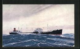 AK S.S. Chiwawa Bei Wellengang Auf Dem Meer - Cargos