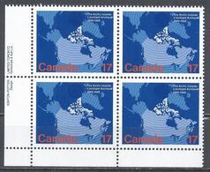 Canada 1980. Scott #847 B.L. (MNH) Map Of Canada Showing Arctic Islands ** Complet Set - 1952-.... Reinado De Elizabeth II
