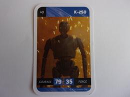 STAR WARS K-250 LECLERC CARTE N°40 Robot - Star Wars