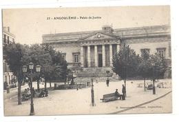 55. ANGOULEME . PALAIS DE JUSTICE . CARTE NON ECRITE - Angouleme