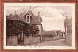 CPA - MEILLON (64) - Aspect De L'entrée Du Bourg Par La Route De Pau En 1946 - Francia