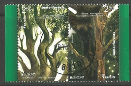 BH 2011-573-4A EUROPA CEPT, BOSNA AND HERZEGOWINA, 1 X 2v, Used - 2011