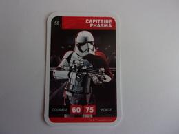 STAR WARS CAPITAINE PHASMA  LECLERC CARTE N°58 - Star Wars