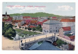 1920s AUSTRIA, SLOVENIA, LJUBLJANA, JUBILEE BRIDGE, ILLUSTRATED POSTCARD, MINT - Yugoslavia