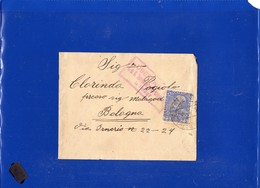 ##(DAN198)-Austria 1915 - Cover From Trieste To Bologna-Italy, Censored - Storia Postale