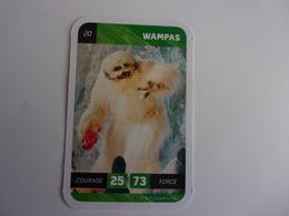 STAR WARS WAMPAS  LECLERC CARTE N°20 - Star Wars