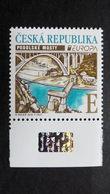 Tschechische Republik Tschechien 977 **/mnh, EUROPA/CEPT 2018, Brücken - Czech Republic