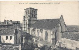 A.G.A. 1141. ANGOULEME . EGLISE St-ANDRE  . CARTE AFFR AU VERSO . 2 SCANES - Angouleme