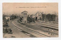 - CPA MAISONS-ALFORT (94) - Intérieur De La Gare Du P. L. M. 1905 - Edition Gautrot N° 22 - - Maisons Alfort