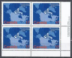 Canada 1980. Scott #847 B.R. (MNH) Map Of Canada Showing Arctic Islands ** Complet Set - 1952-.... Reinado De Elizabeth II