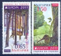 BG 2011- EUROPA CEPT, BULGARIA, 1 X 2v, MNH - 2011