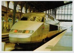 FRANCIA  PARIS  GARE DU NORD   TRAIN  ZUG  TREIN  TRENI  GARE  BAHNHOF  STATION  STAZIONI  2 SCAN (NUOVA) - Treni