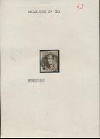 BELGIUM COB 10 NICE STAMP - 1858-1862 Medallions (9/12)