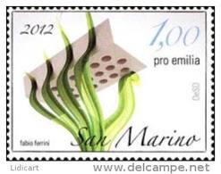 REPUBBLICA DI SAN MARINO - ANNO 2012 - PRO SISMA EMILIA   - NUOVI MNH ** - Nuovi