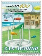 REPUBBLICA DI SAN MARINO - ANNO 2012 - MILANO MARITTIMA  - NUOVI MNH ** - Nuovi