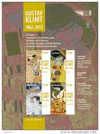 REPUBBLICA DI SAN MARINO - ANNO 2012 - BF PITTORE GUSTAV KLIMT  - NUOVI MNH ** - Nuovi