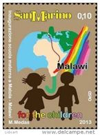 REPUBBLICA DI SAN MARINO - ANNO 2013 -  SCUOLA MALAWI MATOLA -  NUOVI   ** MNH - Nuovi