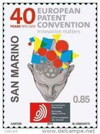 REPUBBLICA DI SAN MARINO - ANNO 2013 -  BREVETTI EUROPEAN PATENT CONVENTION - NUOVI   ** MNH - Nuovi