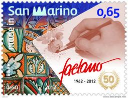 REPUBBLICA DI SAN MARINO - ANNO 2012 - CERAMICA FAETANO  - NUOVI MNH ** - Nuovi