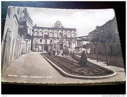 ITALY BASILICATA - MATERA ( MATERA ) LICEO GINNASIO E. DUNI - VIAGGIATA - Matera