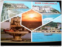 ITALY PUGLIA - RODI GARGANICO  ( FOGGIA ) SALUTI DA ... - VIAGGIATA - Foggia