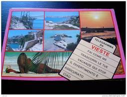 ITALY PUGLIA - VIESTE ( FOGGIA ) TELEGRAMMA DA ... - VIAGGIATA - Foggia