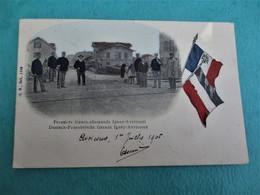 Frontière Franco-Allemande - Igney-Avricourt - Le Corps De Garde Des Douanes - Voyagée En 1905 - TBE - Zoll