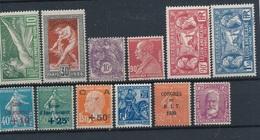 DA-84: FRANCE: Lot Avec Timbres** Avant 1933 - Nuevos