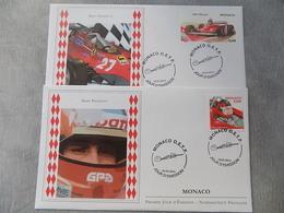 FDC (2) MONACO 2014 : Gilles Villeneuve (Formule 1) - FDC