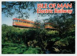 ISLE  OF  MAN       TRAIN  ZUG  TREIN  TRENI  GARE  BAHNHOF  STATION  STAZIONI  2 SCAN (NUOVA) - Treni
