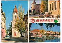 KARMANN-78      MORGES With KARMANN GHIA - Postcards