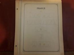 FRANCE 1849 - 1860 Lot De 7 Pages Feuilles Album Anciennes YVERT & TELLIER Avec Spécialités Variétés Reimpressions... TB - Albums & Binders