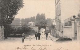 LE PONT DE CHEMIN DE FER - MONTGERON - Montgeron