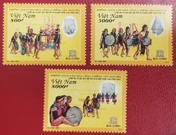 VIETNAM VIET NAM 2007 - UNESCO MUSIC INSTRUMENTS DANSE DANCE DANCING - RARE MNH - Tanz