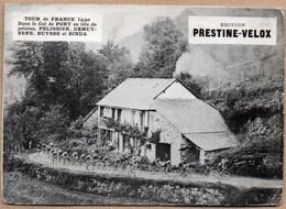 Vieux Papiers > Publicités Colle Prestine Velox Tour De France 1930 Col De Port Pelissier - Advertising